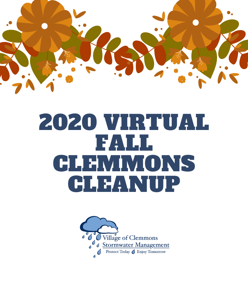 2020 Clemmons Virtual Fall Cleanup